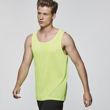 Camisetas técnicas roly interlagos de poliéster con impresión vista 1