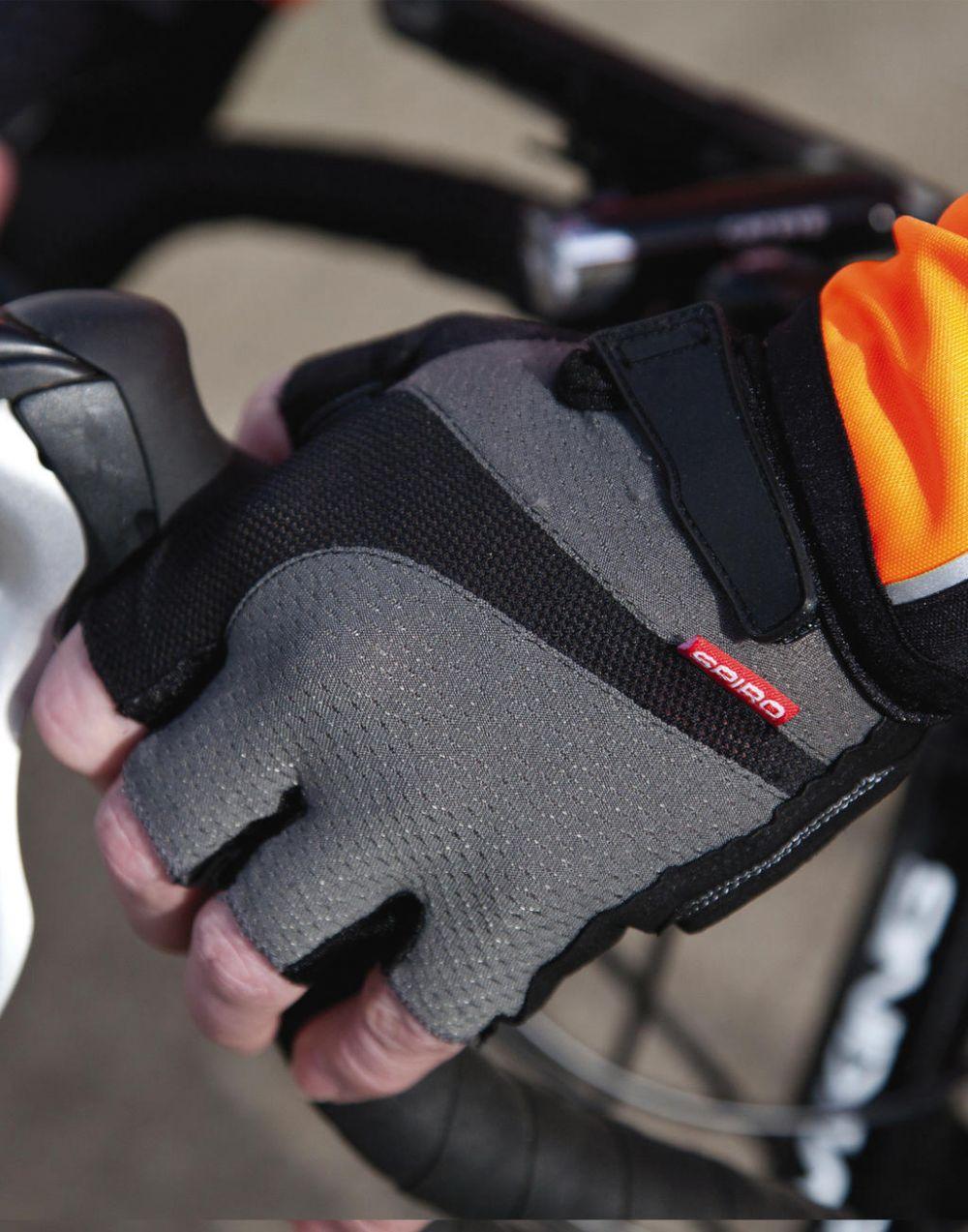 Complementos deportivos result guantes de verano con logo imagen 2