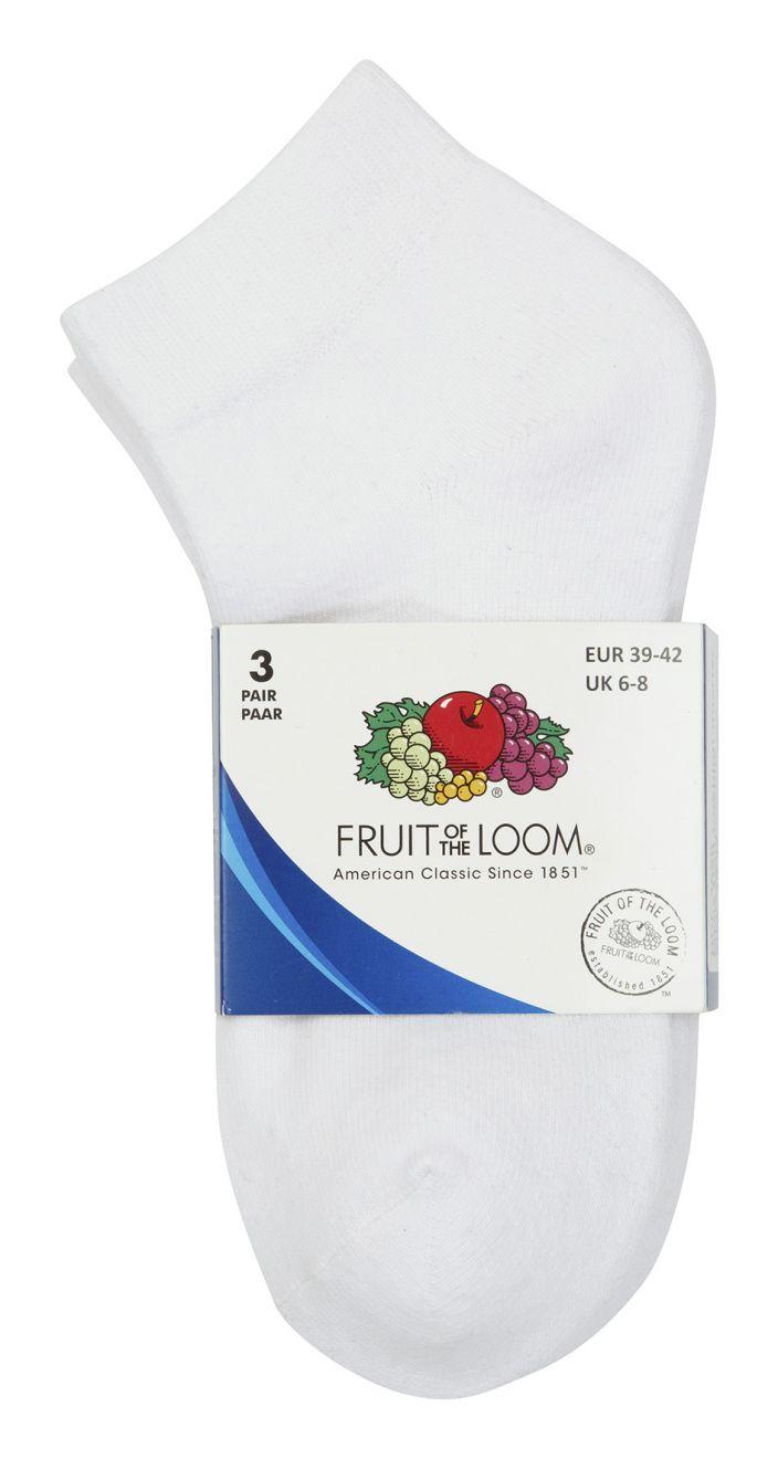 Underwear fruit of the loom calcetines quarter imagen 1