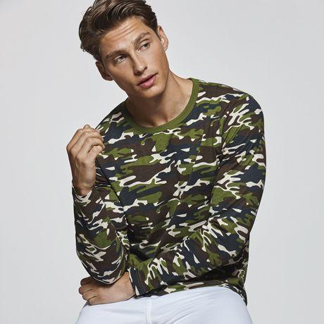 Camisetas manga corta roly molano de 100% algodón con publicidad imagen 1