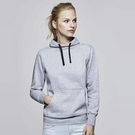 Sudaderas capucha roly urban mujer de algodon para personalizar vista 1