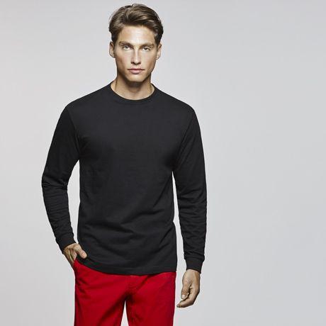 Camisetas manga larga roly ponter de 100% algodón con impresión vista 1