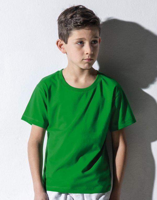 Regalos ecologicos nakedshirt camiseta orgánica frog niño ecológico con logo imagen 1