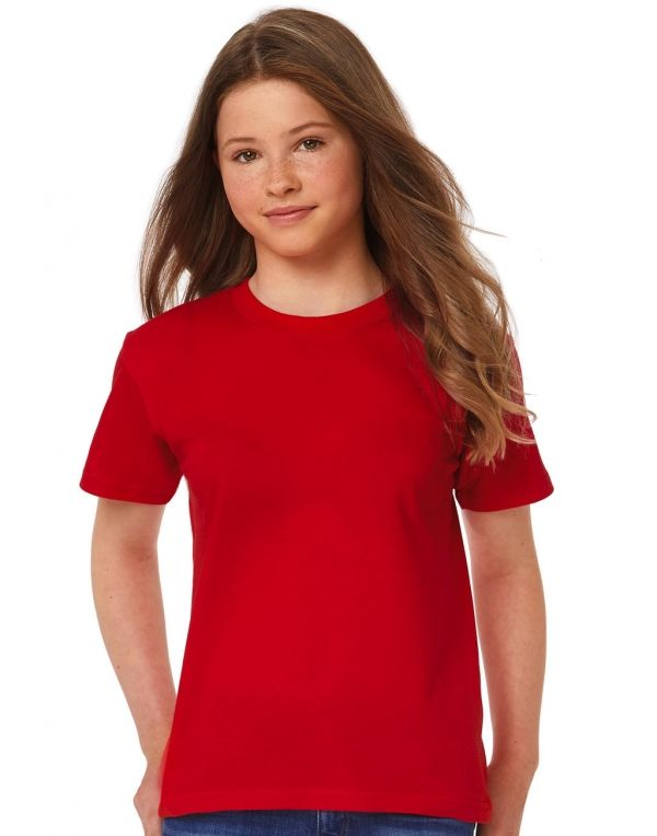 Camisetas personalizadas b&c niño exact 150niño t shirt vista 1