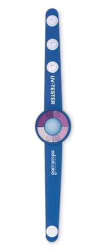 Relojes pulsera uv de pvc con impresión vista 1