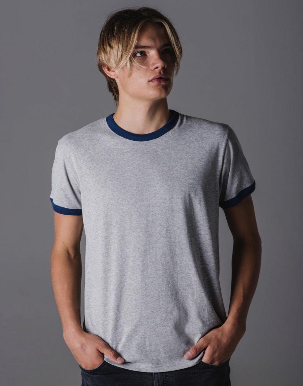 Camisetas manga corta mantis orgánica superstar retro hombre ecológico con impresión imagen 2
