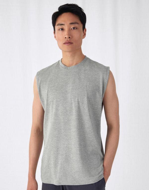 Camisetas publicitarias b&c sin mangas exact move para personalizar imagen 1