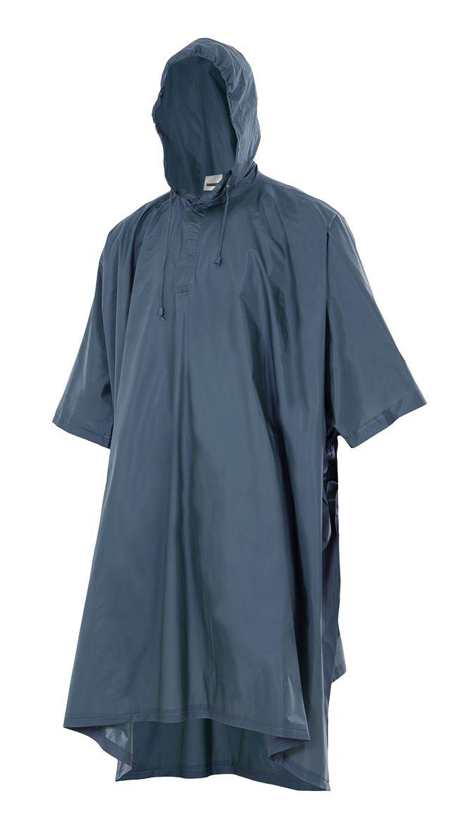 Chubasqueros y cortavientos velilla poncho de lluvia con capucha de poliéster para personalizar imagen 1