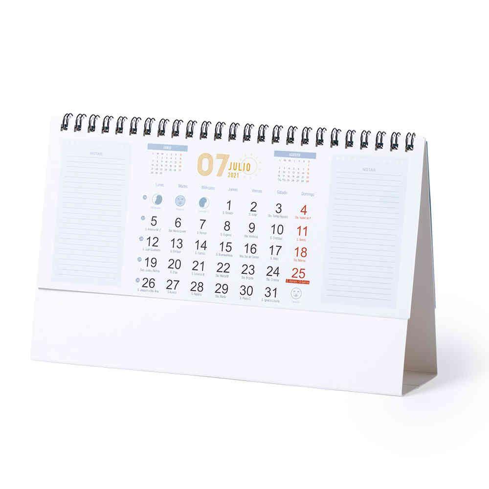 Calendarios publicitarios feber de cartón para personalizar imagen 2