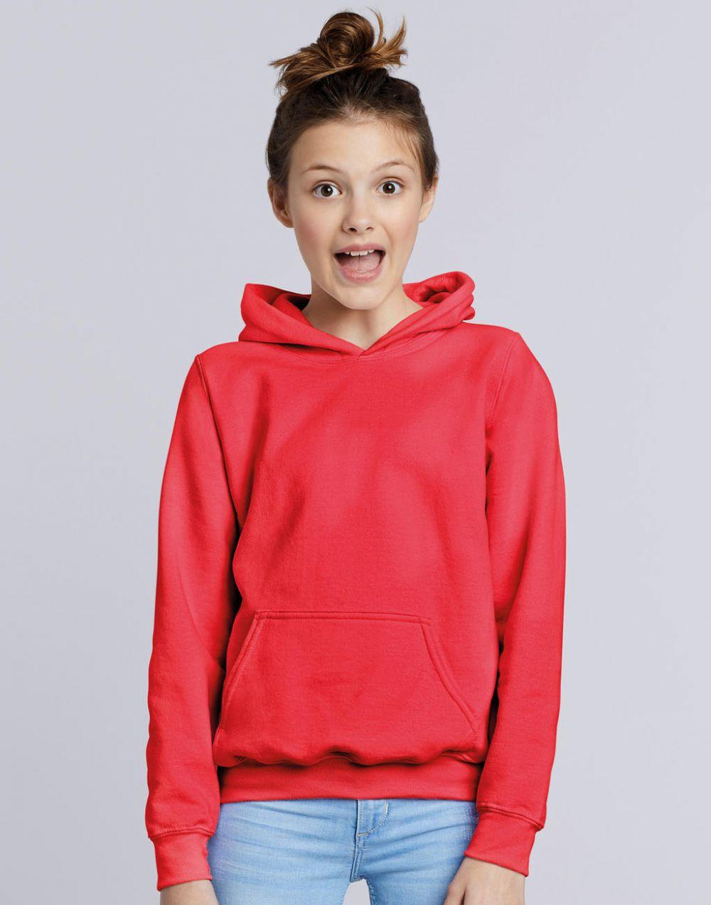 Sudaderas capucha gildan con capucha niño para personalizar imagen 1