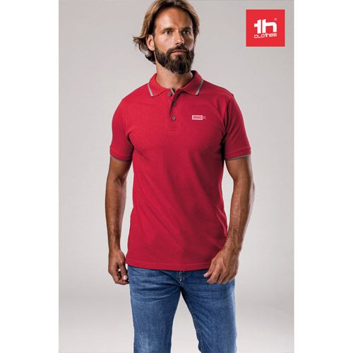 THC ROME. Polo slim fit