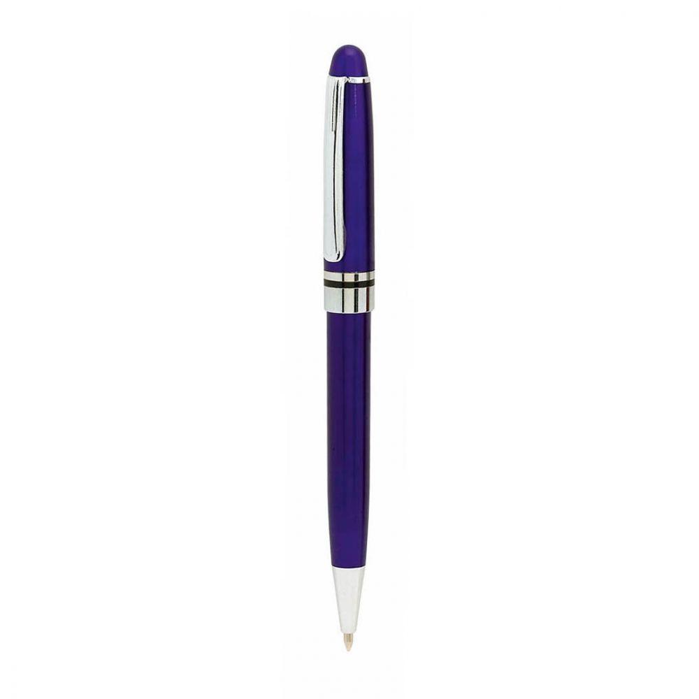 Bolígrafos básicos strait con publicidad vista 1