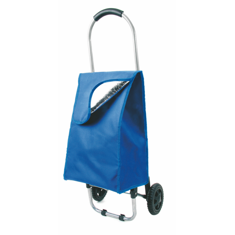 Carritos compra cooler de poliéster con impresión vista 1