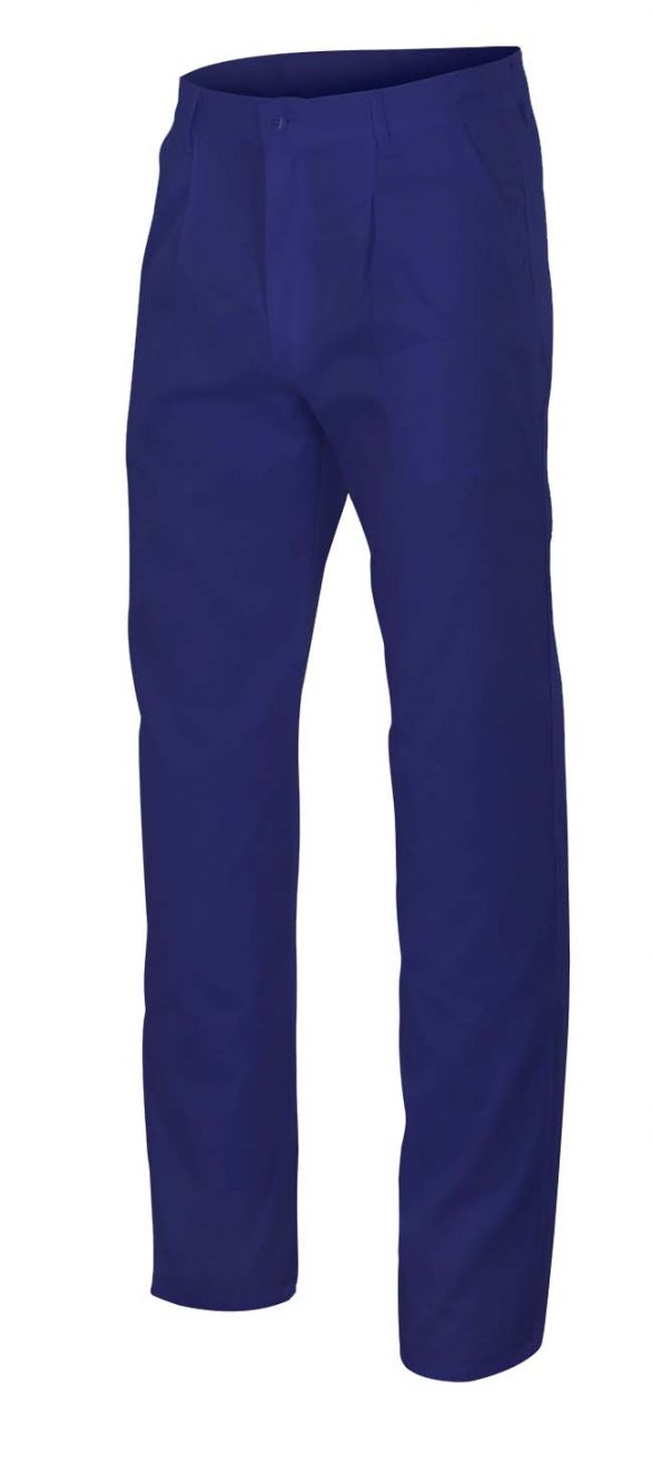 Pantalones de trabajo velilla con 2 bolsillos franceses de algodon vista 1