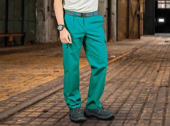 Pantalones peñas valento chispa pa con logo vista 1