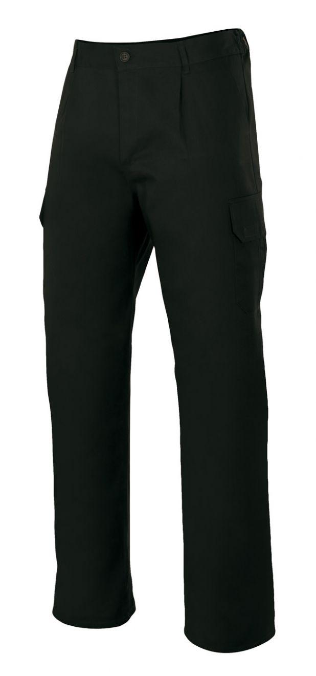 Pantalones de trabajo velilla multibolsillos con 6 bolsillos de poliéster vista 1