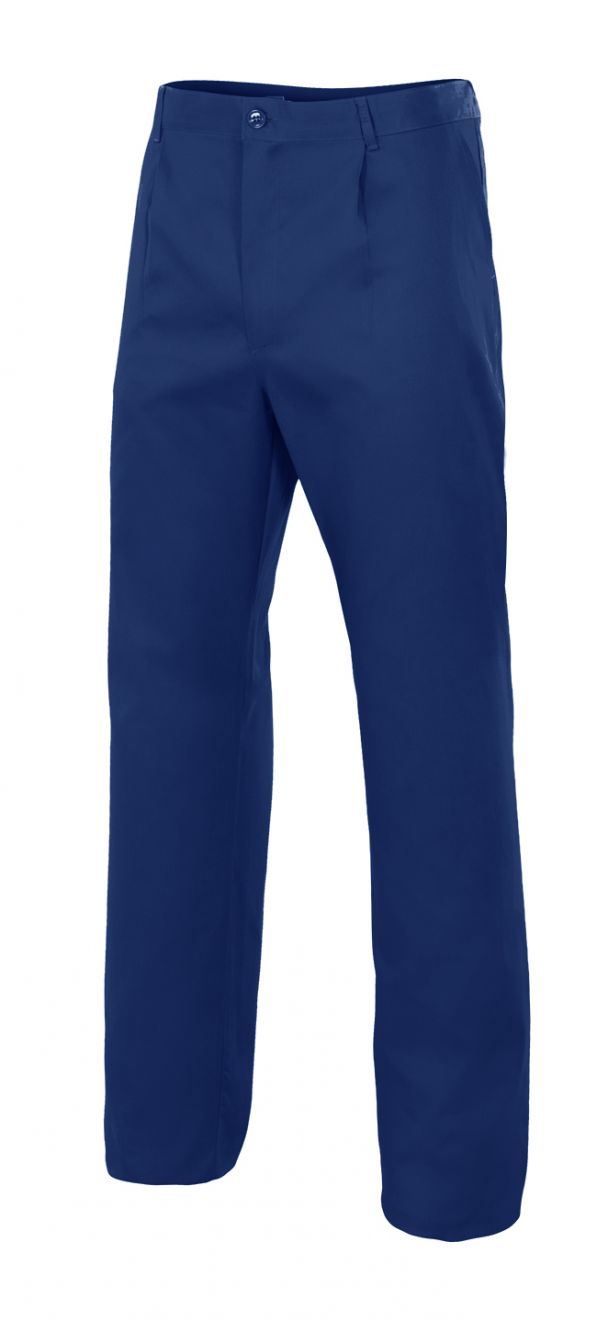 Pantalones de trabajo velilla bolsillo en pierna derecha de algodon imagen 1