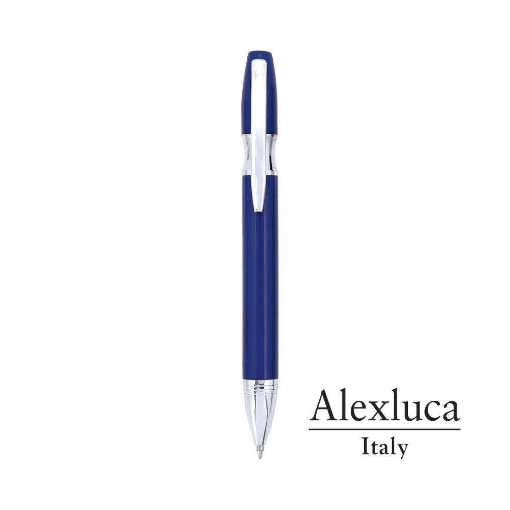 Bolígrafos de lujo alexluca pilman de metal con impresión vista 1
