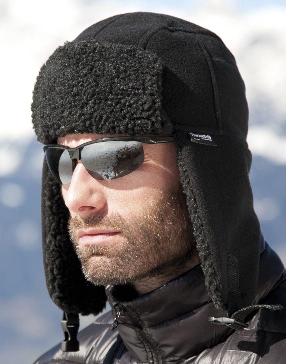 Gorros invierno result sherpa thinsulate con logo vista 2
