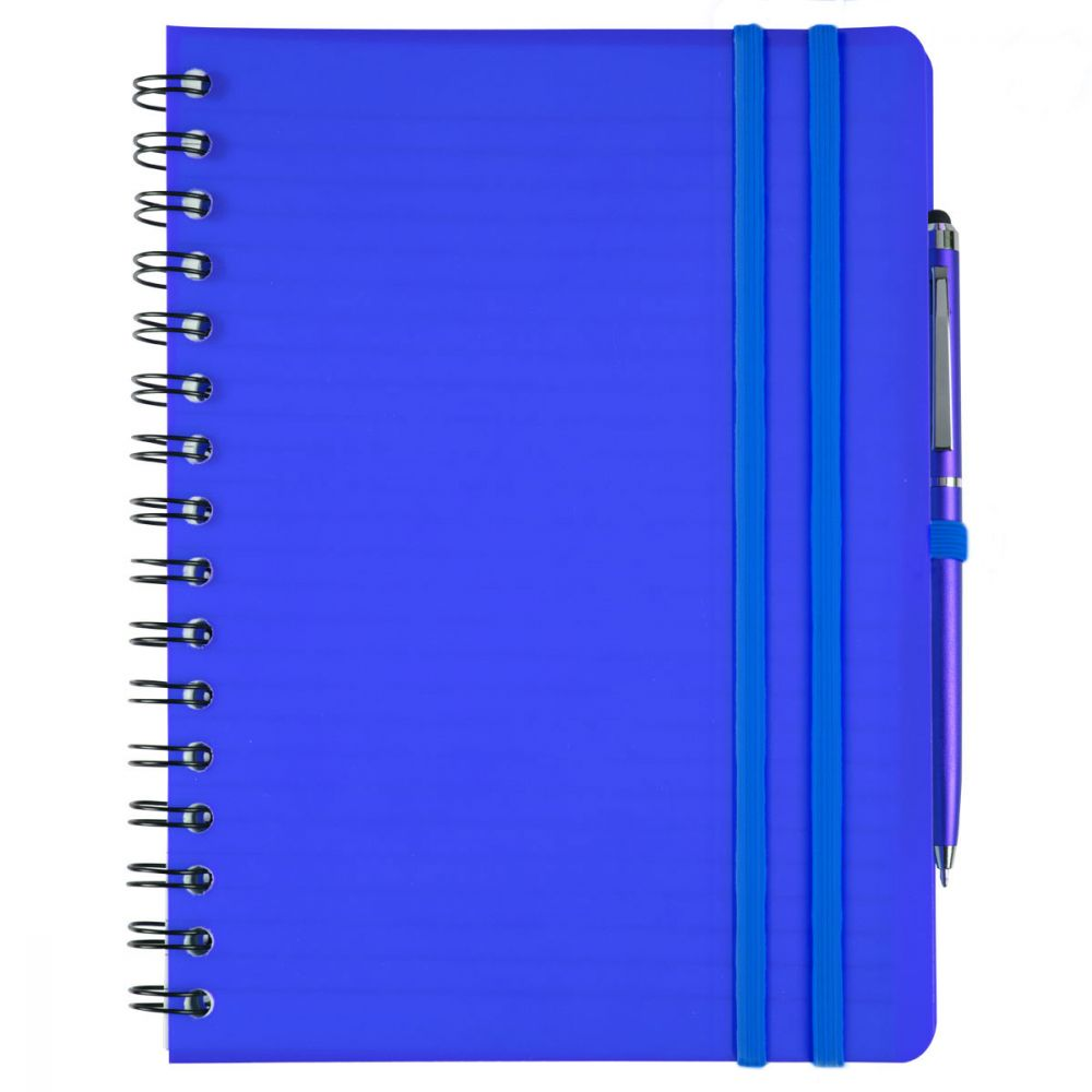 Cuadernos con anillas concept de papel vista 1