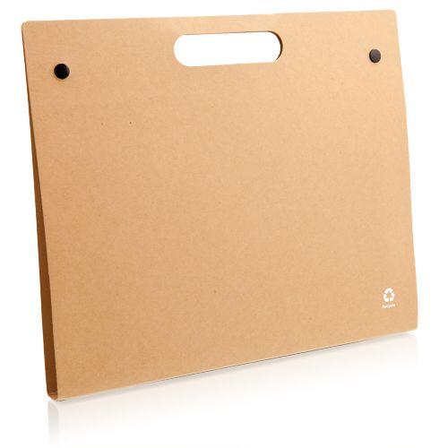 Carpeta kelem de cartón ecológico vista 1