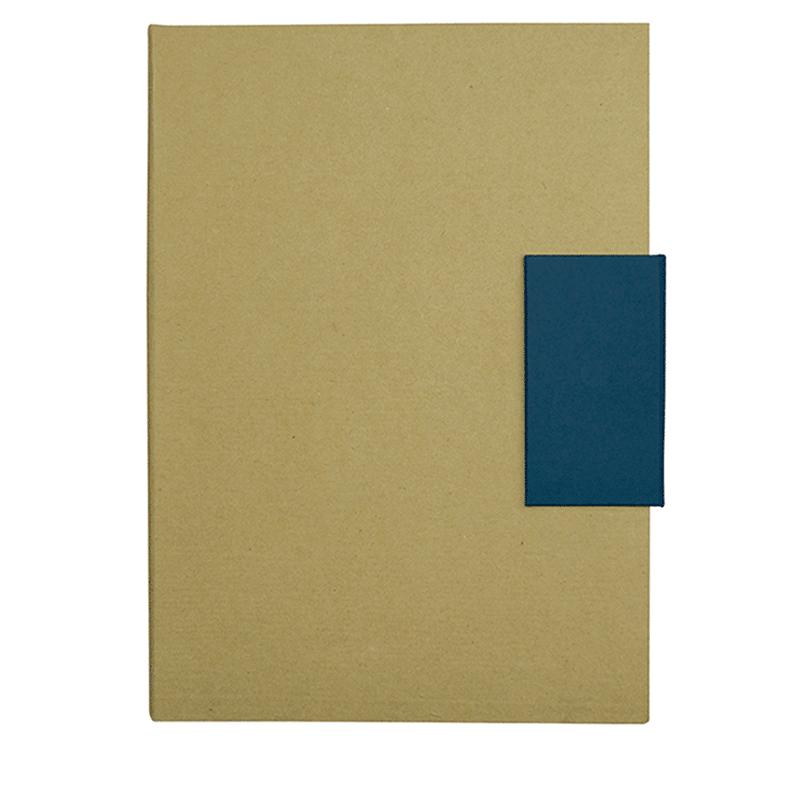 Libretas sin anillas clasp de cartón vista 1