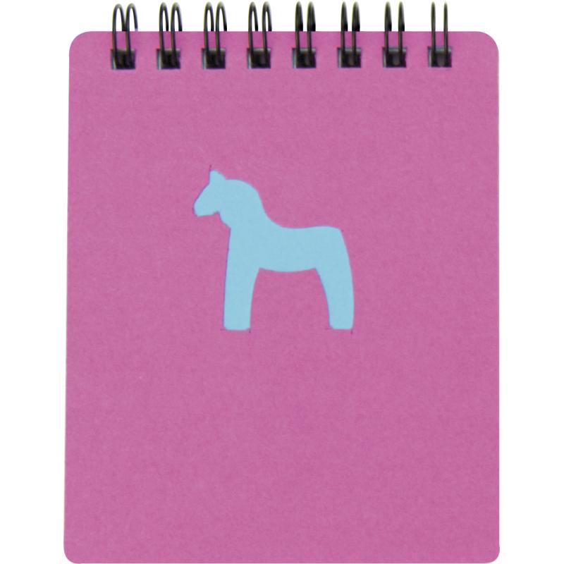 Cuadernos con anillas horse de cartón con impresión vista 1