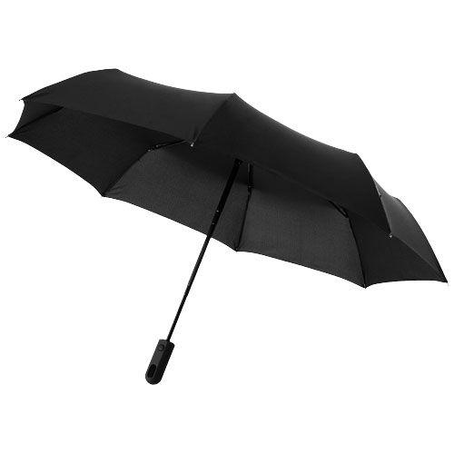 Paraguas clásicos automatic 3 sections 21,5 de poliéster con logo imagen 1