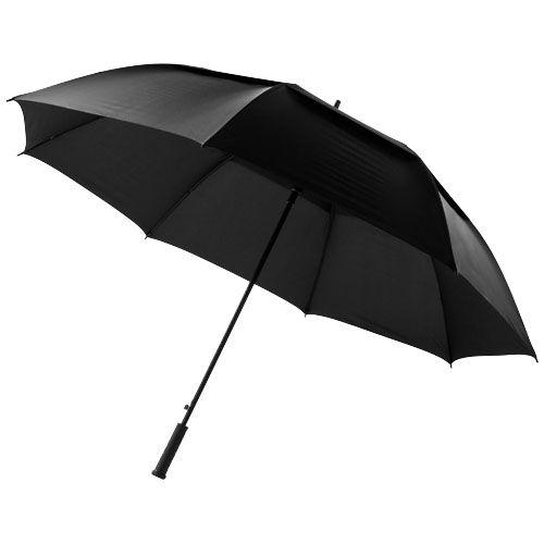 Paraguas clásicos automatic brighton 32 de nylon con logo vista 1