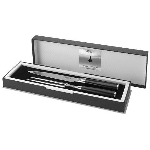 Cuchillos for carving finesse de metal con logo imagen 1