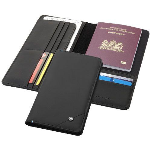 Fundas documentación viaje odyssey rfid travel de nylon con impresión vista 1