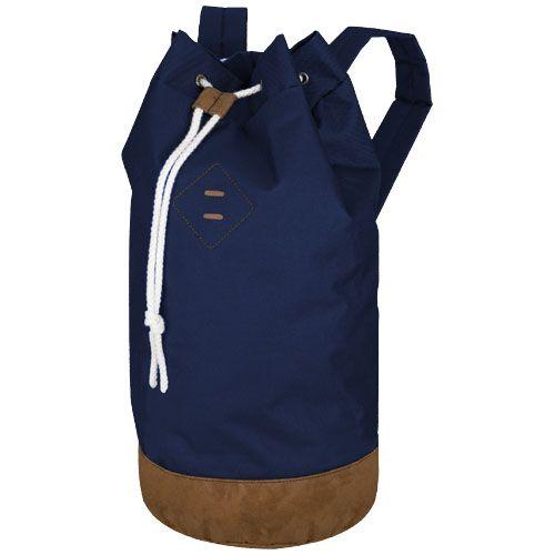 Mochilas cuerdas petate bag chester de poliéster con logo vista 1