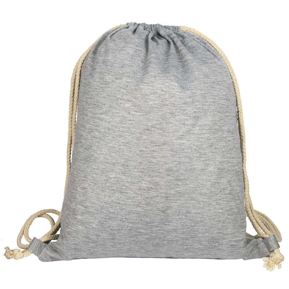 Mochila cuerdas personalizada shirt de poliéster con impresión vista 1