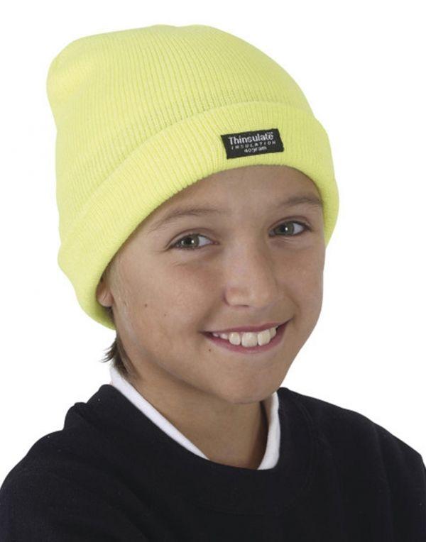 Gorros invierno yoko fluo niños para personalizar imagen 1