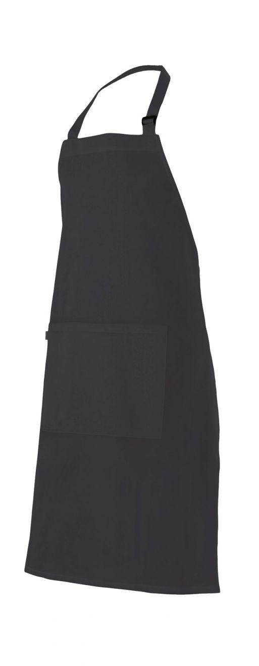 Delantales de hostelería velilla peto con bolsillo con hebilla de algodon para personalizar vista 1