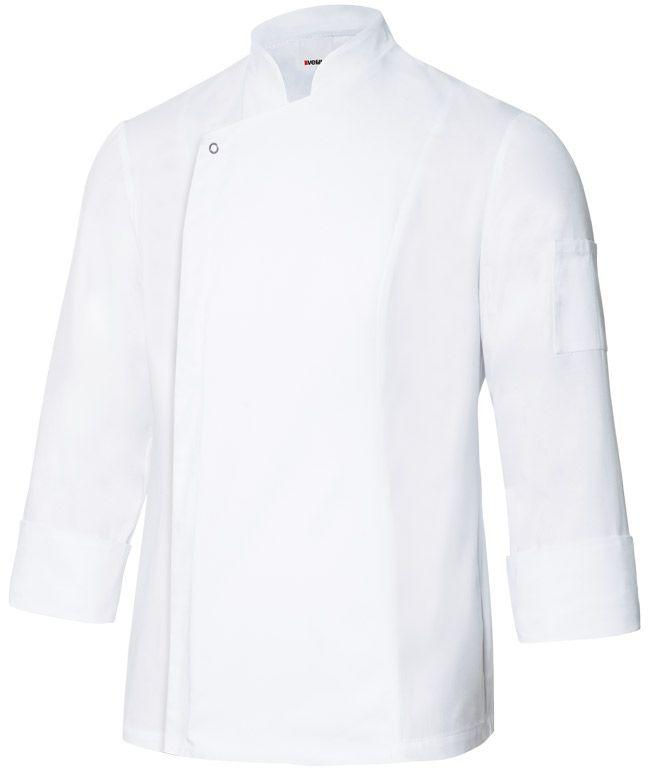 Chaquetas de cocinero velilla de cocina con tejido transpirable imagen 1
