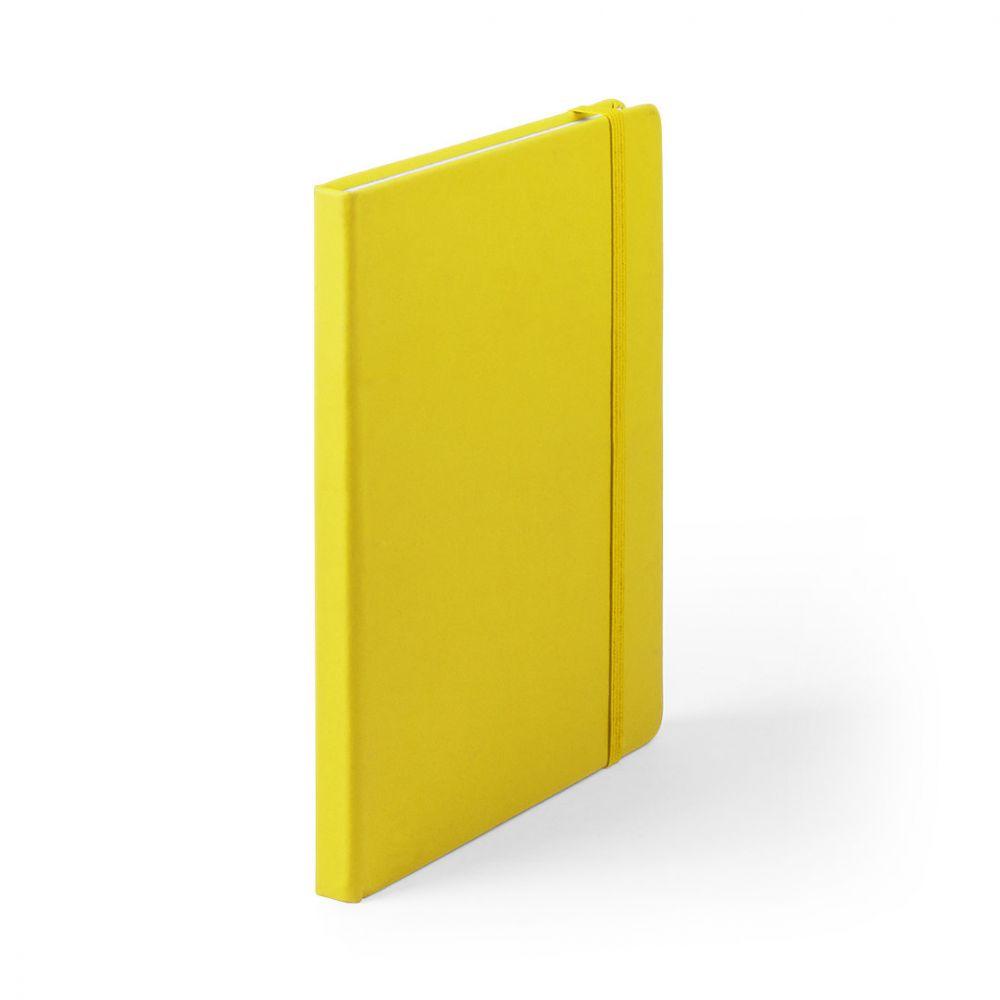 Libretas con banda elastica cilux de polipiel para publicidad vista 1