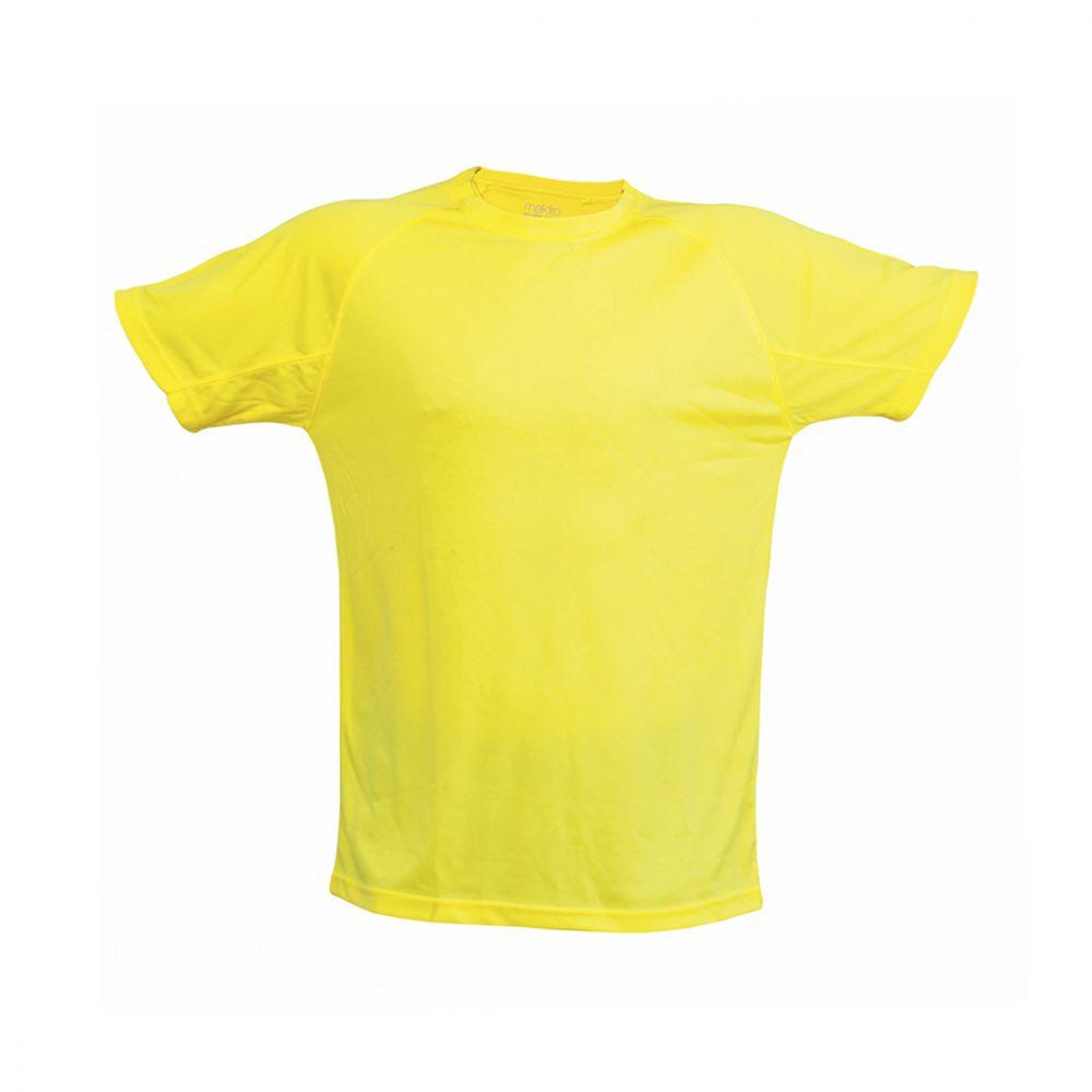 Camisetas técnicas tecnic plus unisex de poliéster con impresión vista 1