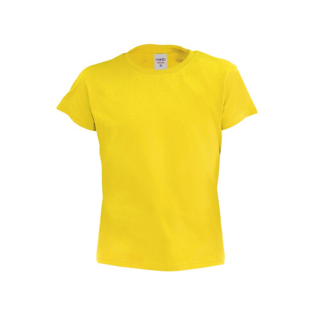 Camisetas manga corta hecom niño de 100% algodón con logo vista 1