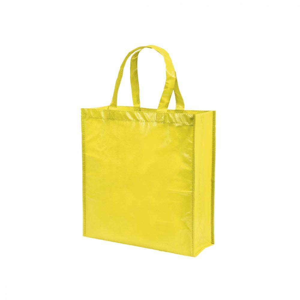 Bolsas compra divia no tejido para publicidad vista 1