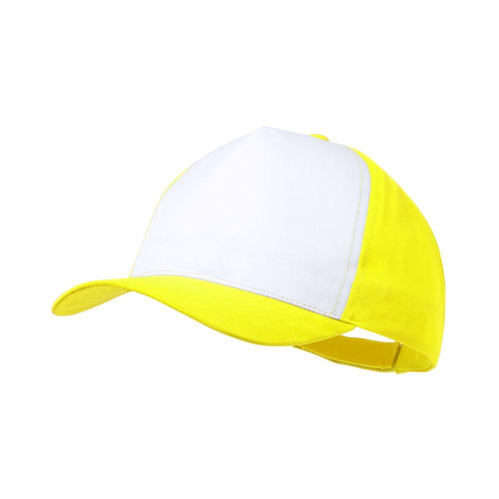 Gorras sodel de poliéster con logo vista 1