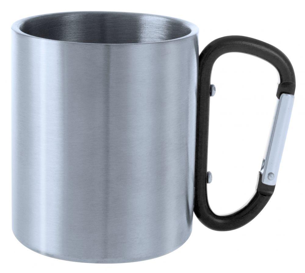 Taza termo bastic de metal vista 2