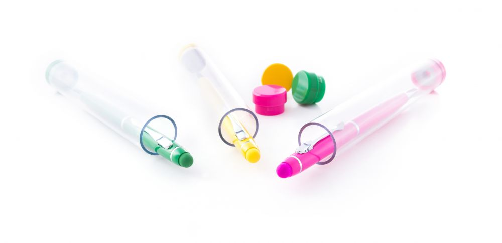 Bolígrafos puntero táctil bolcon de metal con impresión vista 1