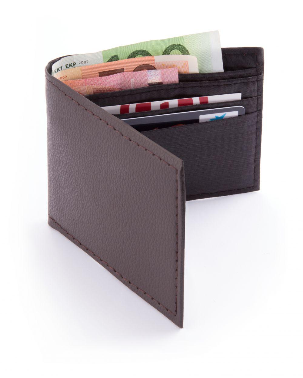 Carteras y monederos cartera mudson de polipiel para personalizar vista 1