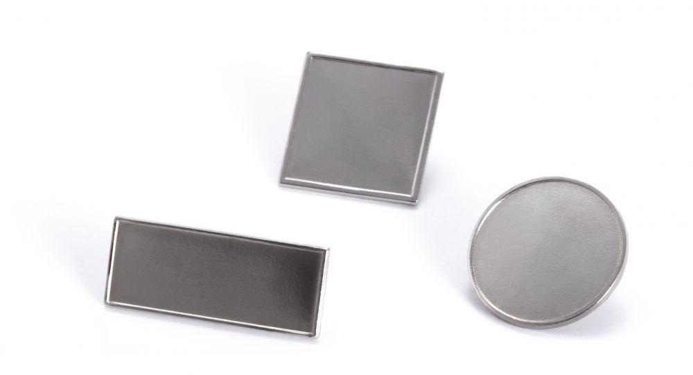 Pins batler de metal con impresión vista 1
