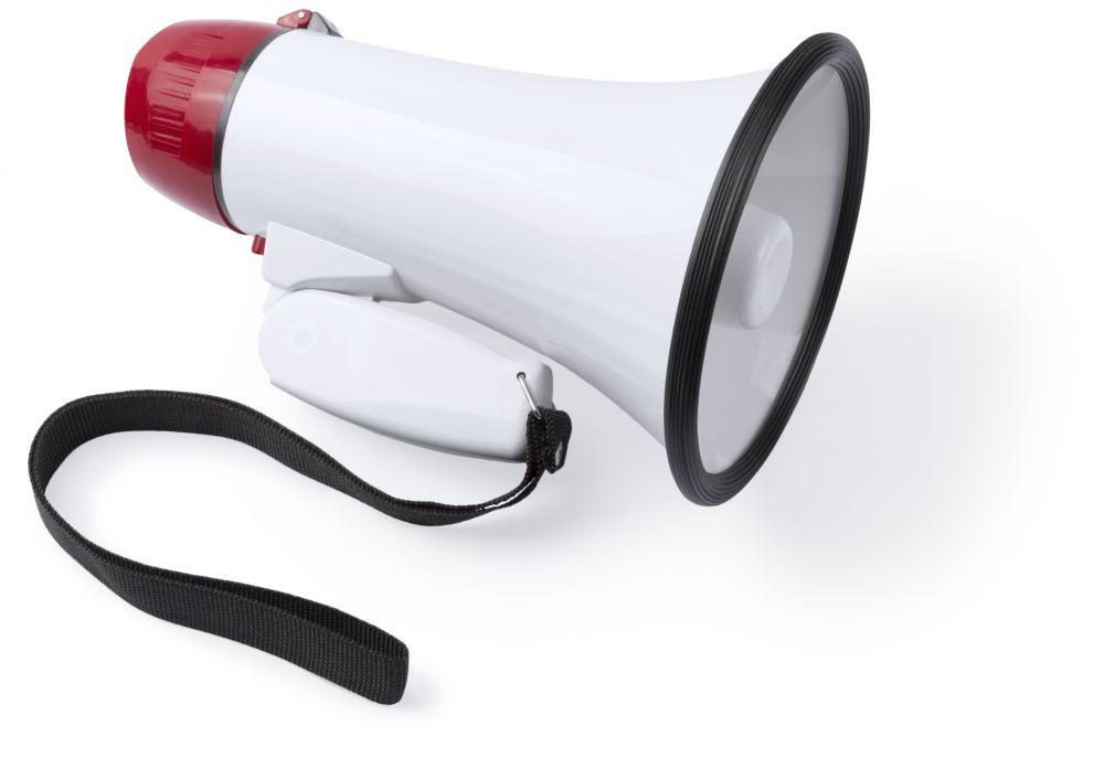 Accesorios eventos megáfono tokky para personalizar vista 1