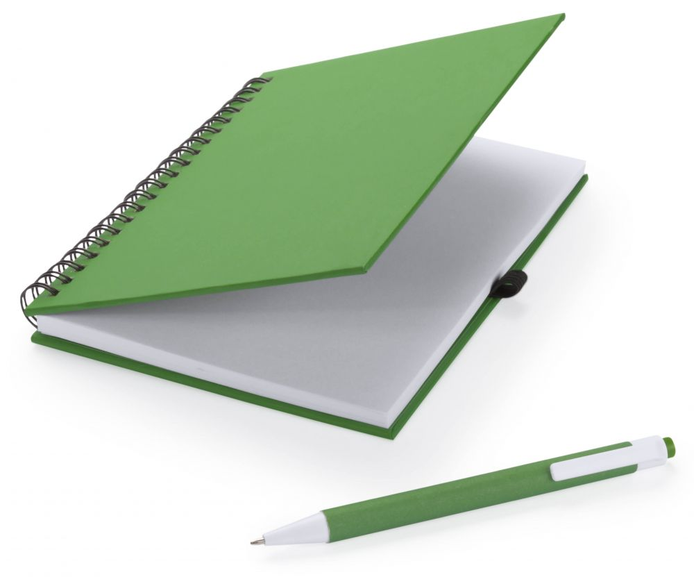 Cuadernos con anillas koguel de cartón ecológico vista 2