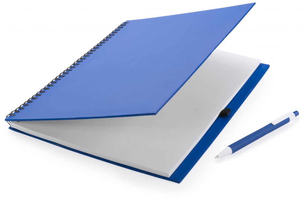 Cuadernos con anillas tecnar de cartón ecológico con publicidad imagen 1