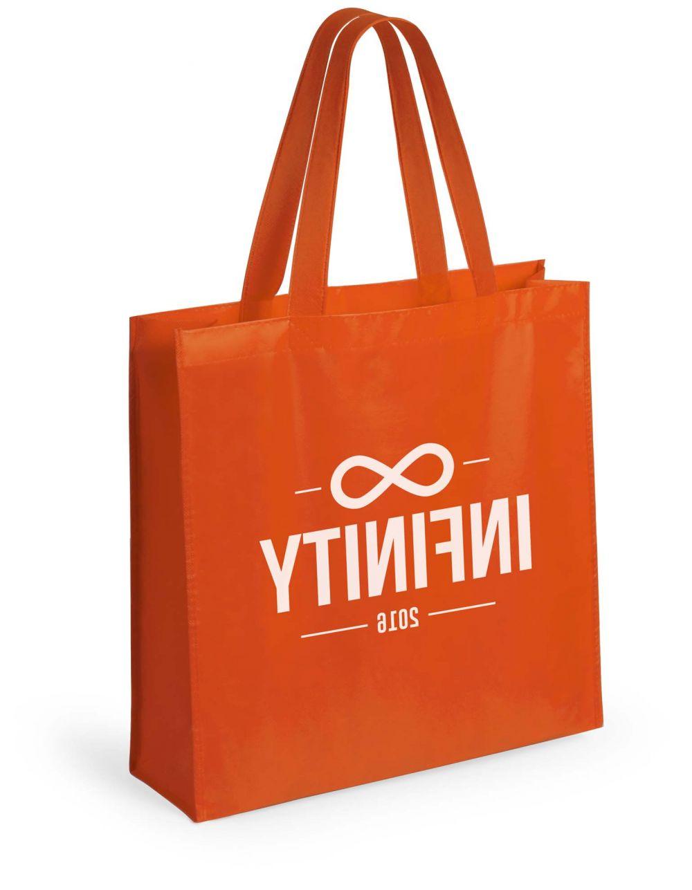 Bolsas compra natia no tejido con publicidad imagen 1