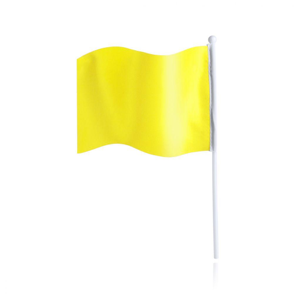 Banderas rolof de poliéster con logo vista 1